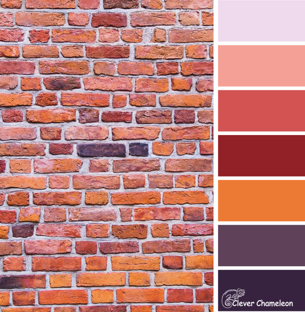 Wall Colour Inspiration: Colour Inspiration Tuesday: Sunset Wall