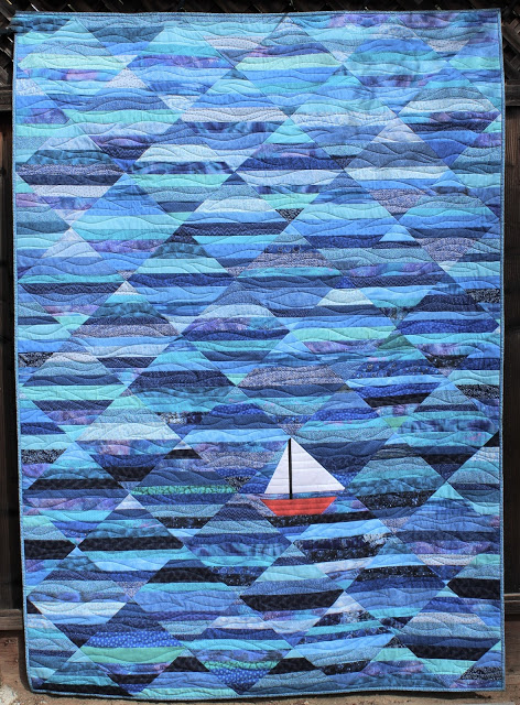 Seafarer by Quilt Fabrication