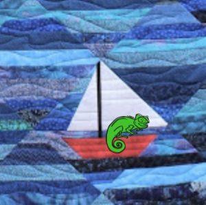 Seafarin' Chameleon