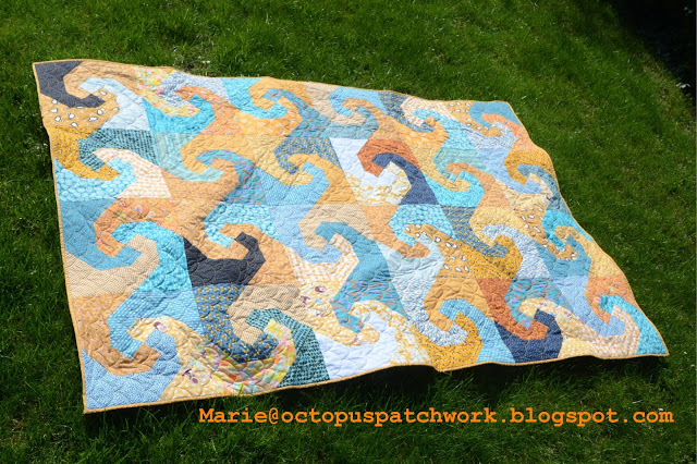 Waves by Octopus Patchwork